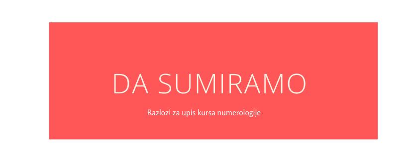 Razlozi za upis kursa numerologije-Stella Numerus