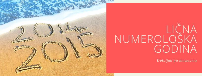 Tumačenje vaše lične numerološke godine-Stella Numerus